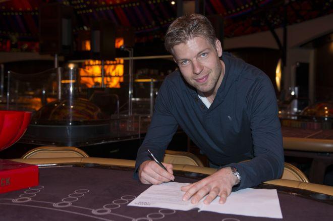 Jorryt van Hoof tekent als Master Classics of Poker 2014 ambassadeur