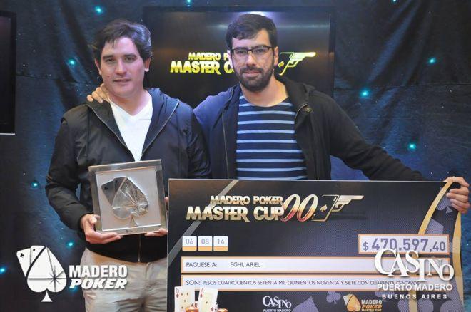 Ariel Eghi se proclamó campeón de la Madero Poker Master Cup 0001