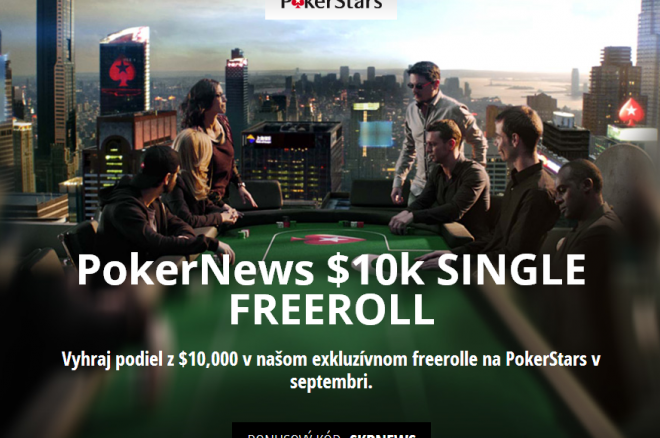 Vyhraj podiel z $10,000 v našom exkluzívnom freerolle na PokerStars 0001