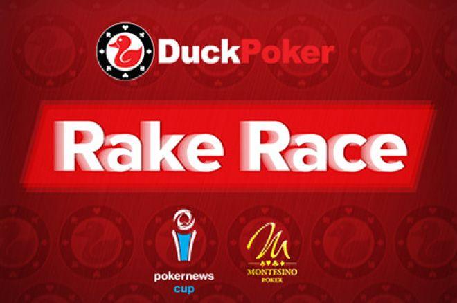 DuckPoker Rake Race