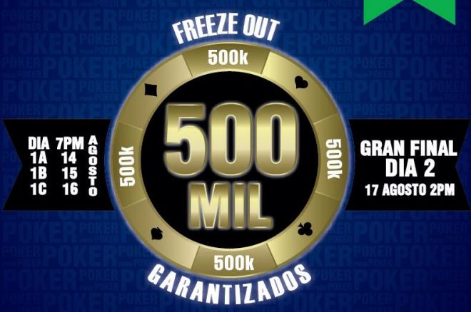 Room Poker Club y su 500K Garantizado 0001