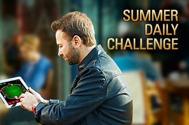 """PokerStars kambaryje prasidėjo """"Summer Daily Challenge"""" - garantuota 500,000 dolerių 0001"""