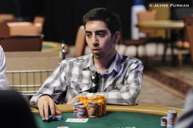 Elior Sion at the 2014 World Series of Poker
