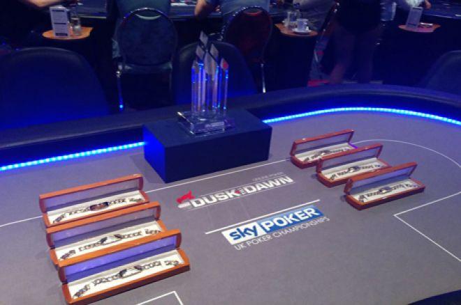 Dusk Till Dawn bracelets and trophy