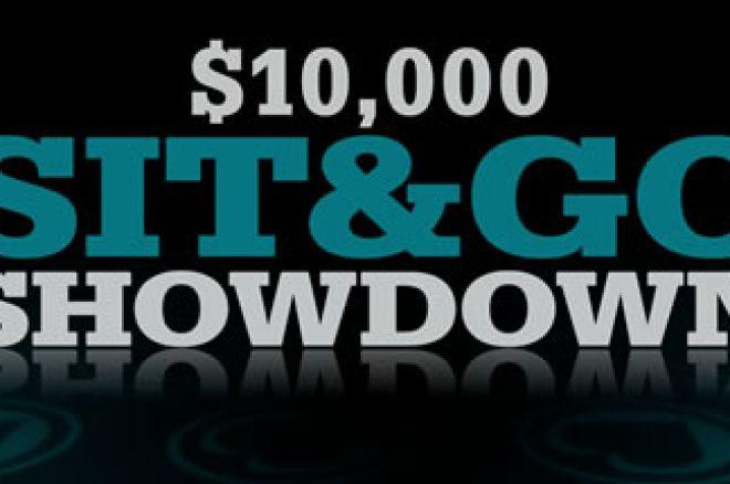 Sit & Go Showdown състезание за$10,000 от 15 до 24 август в PKR 0001