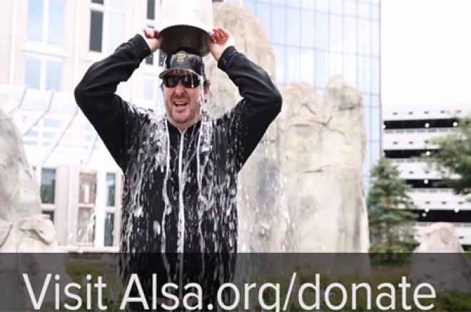 Esfandiari e Hellmuth Fazem ALS Ice Bucket Challenge 0001