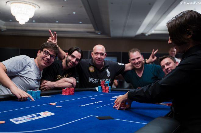 Colman,Trickett, Busquet, Shak na Final Table do Super High Roller EPT Barcelona 0001