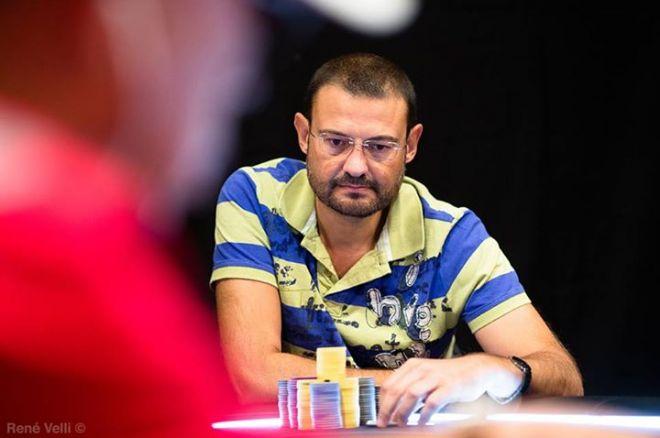 Milton Moreira, Pedro Vasconcelos e Nanev no dia 3 do Estrellas Poker Tour Barcelona 0001