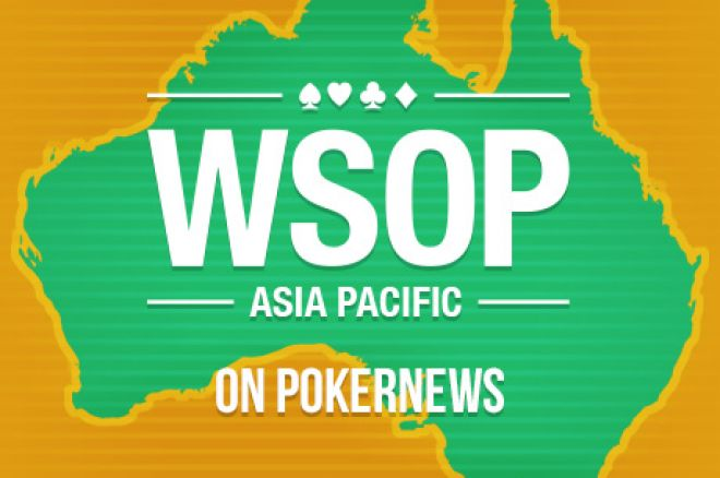 PokerNews to Live Report WSOP APAC at Crown Melbourne from Oct. 2-18 0001