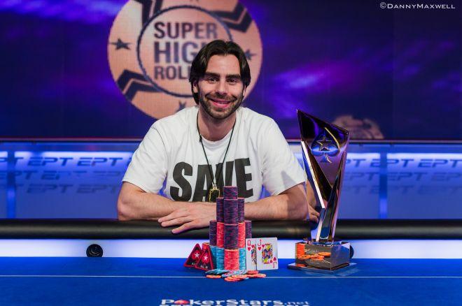 Stebuklą finale sukūręs Olivieris Busquet triumfavo EPT Super High Roller mūšyje 0001