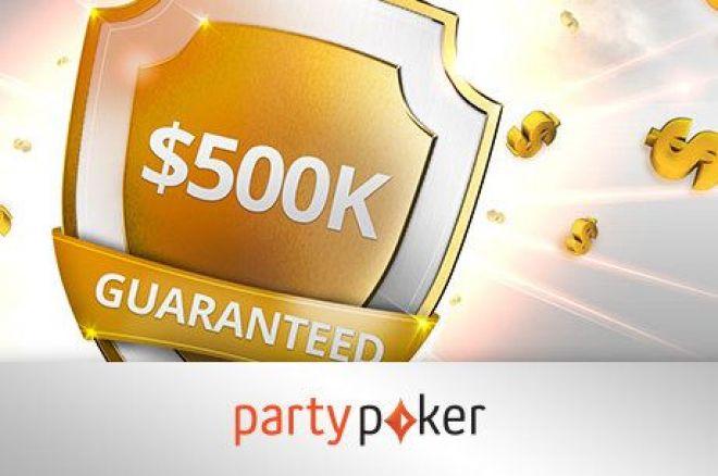 Partypoker oznámila návrat $500K GTD, který se bude konat 21.září 0001