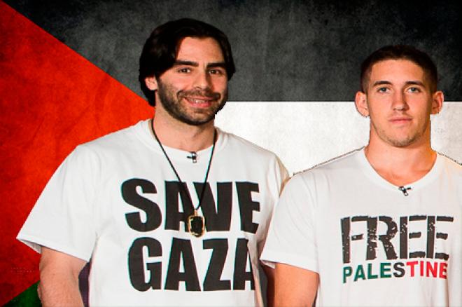 Olivier Busquet & Daniel Colman Apoiaram a Palestina no SHR 0001
