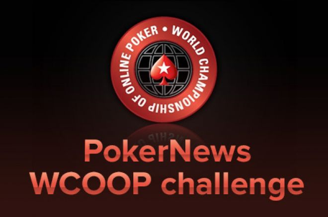 Qualify for a $1,000,000 guarantee WCOOP event for as little as $3,30!