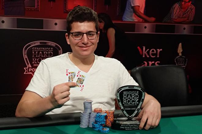 Jacob Schindler Vence SHR $100k Seminole Hard Rock Poker Open ($570,375) 0001