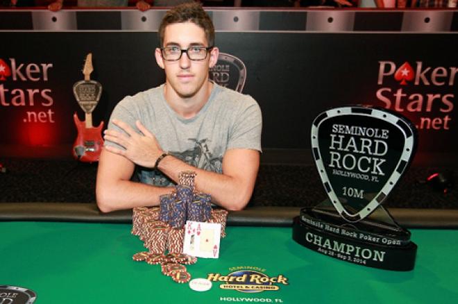 Dan Colman l'alieno! Vince anche il Seminole Hard Rock Poker Open per oltre 1,4 milioni di dollari! 0001