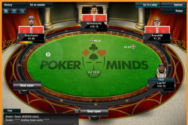 PokerMinds do 15. září pořádá denně 5 x €25 freerolly exkluzívne pro hráče... 0001