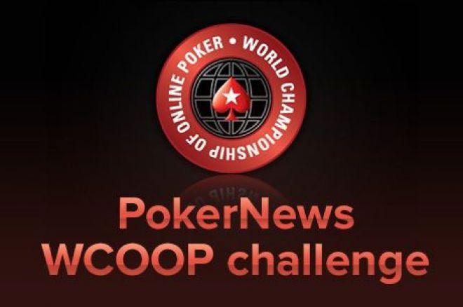 Password za PokerNews Ekskluzivni Satelit za WCOOP $215 Event #22 0001