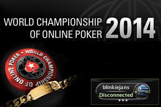 """WCOOP 2014 Recap (1) - """"blinkiejans"""" op zoek naar $144.000 in WCOOP1"""
