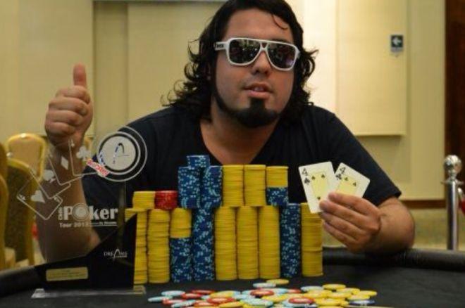 Dreams Poker Tour quinta fecha; Oscar Alache campeón. 0001