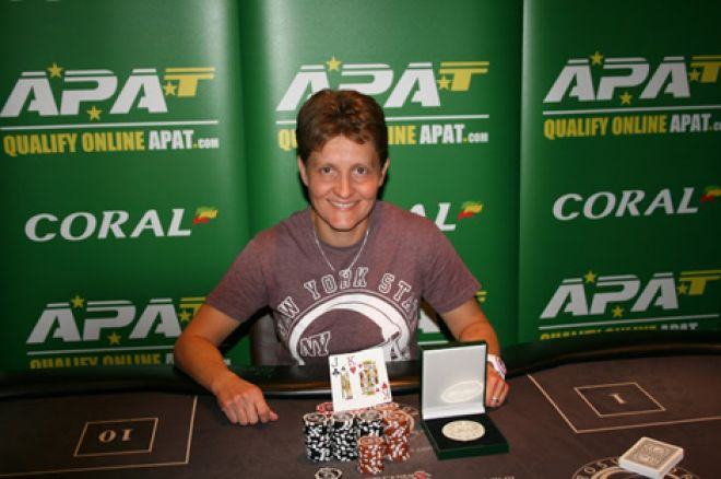 Shirley Cole: 2014 APAT Luton Main Event champion