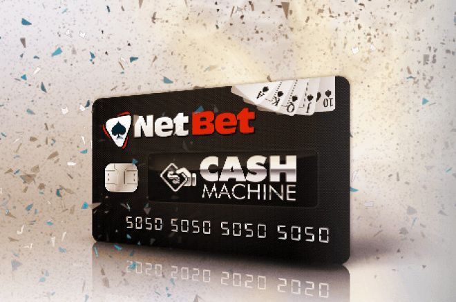 Grab €20 For Free in the NetBet Poker Cash Machine 0001