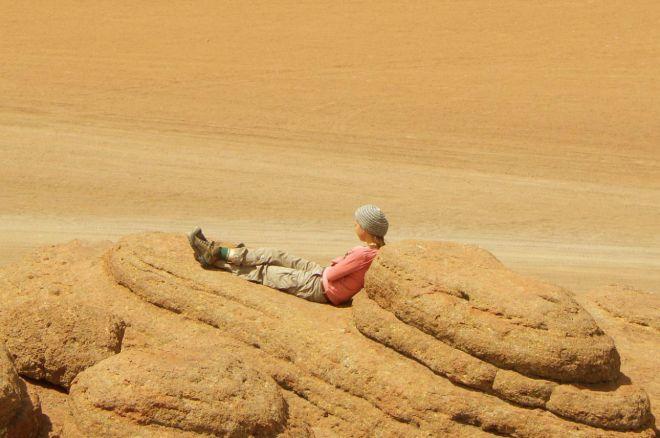 Nuestro desierto es bonito, pero eso no llega
