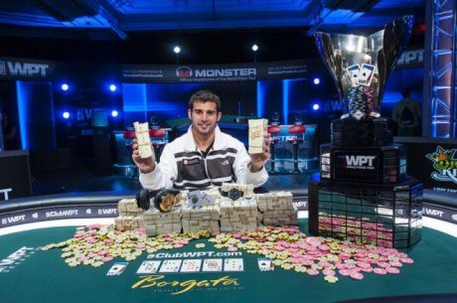 PokerNews Boulevard: Darren Elias wint WPT Borgata Poker Open voor $843.744