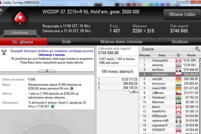 TryToExploit wygrywa 50 tysięcy $