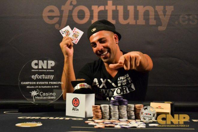 Circuito Nacional de Poker: Manuel Martín consigue la victoria y un premio de 18.700€ 0001
