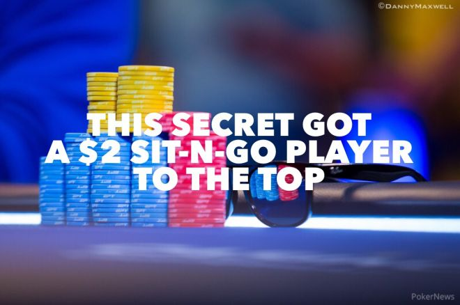 This Secret Got a $2 Sit-N-Go Player To the Top (And You Can Steal It!) 0001
