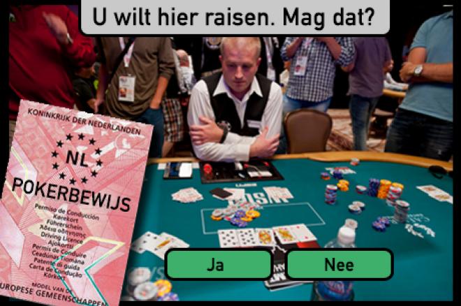 Live Poker Theorie Examen - U wilt hier raisen. Mag dat?