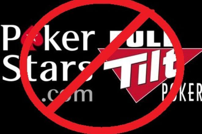 Poker Stars i Full Tilt zablokowane