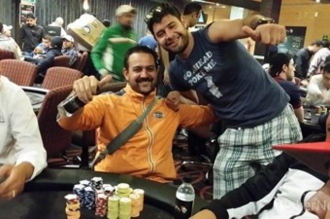 Resumen del día 1B del Room Poker Club 750K ; Sergio Velez como chipleader 0001