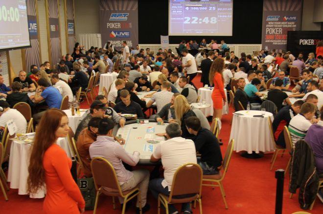 Russian Poker Tour Main Event: Pregled Dana 1B - Shapoval Volodymyr Chip Leader 0001