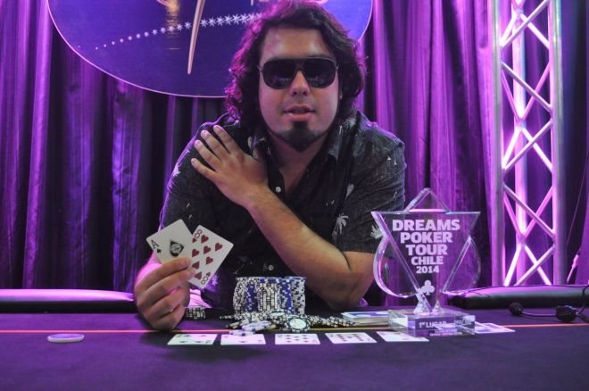 Dreams Poker Tour; back to back de Oscar Alache. 0001