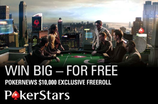 Attention! Win Big in the PokerNews $10,000 Freeroll at PokerStars 0001
