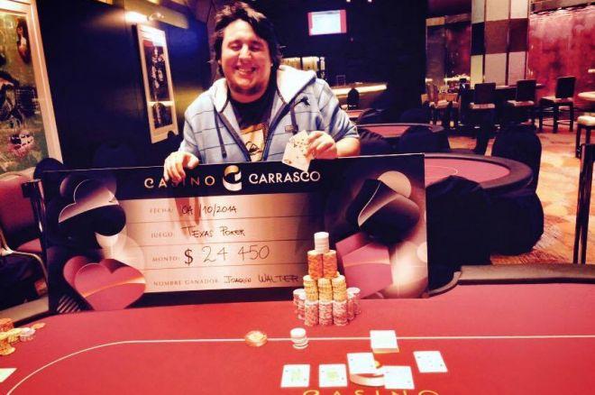 Joaquín Walter ganó la etapa inaugural del Montevideo Premium Poker 0001