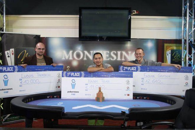 Víťazom finále Pokernews Cup-u sa stal Hahn Tran, Luboš Trembecki skončil tretí 0001