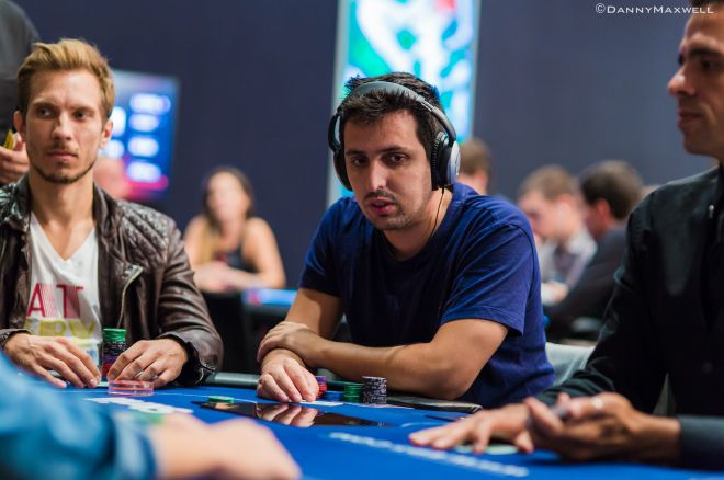 Sergio Aído y Pablo Gordillo enarbolan la bandera del Poker español en Londres 0001