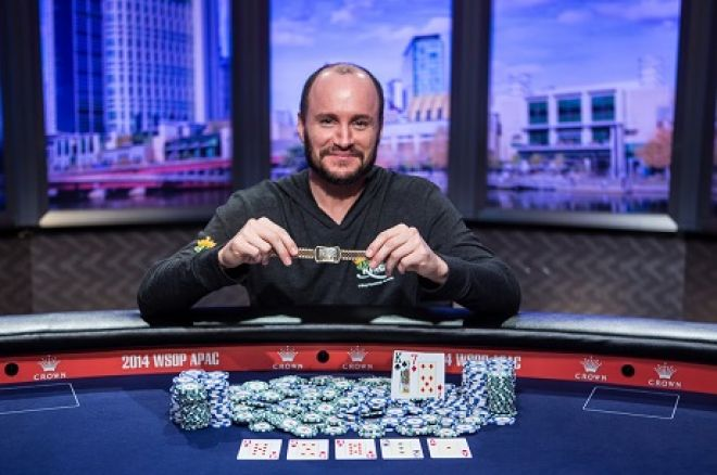 Mike Leah at WSOP APAC High Roller