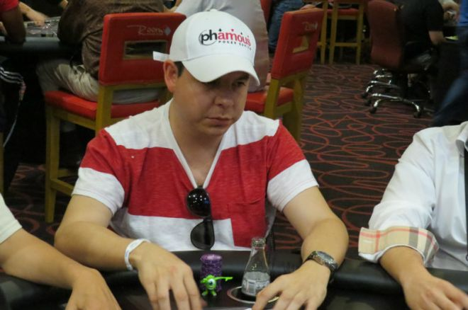 Jerson Backmann; mexicano como líder en fichas en la mesa final del LAPT Perú 0001