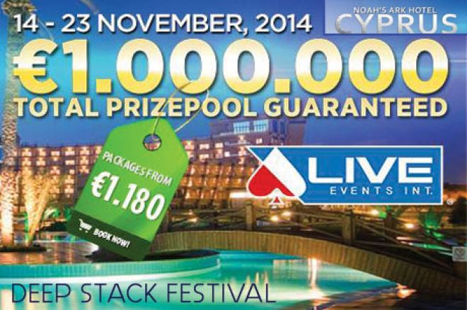 Live Events Int. Deepstack Festival na Kipru od 14. do 23. Novembra 0001