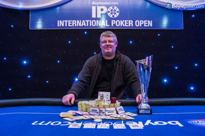 Chris Pyke: 2014 Boylepoker IPO Dublin Main Event winner