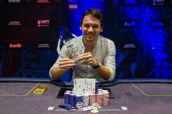 Edu Garcia Freixa Wins World Poker Tour National in Barcelona for €50,000