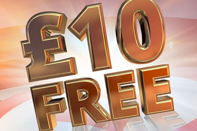 LIMITED TIME OFFER: A Free £10 For New partypoker Customers 0001
