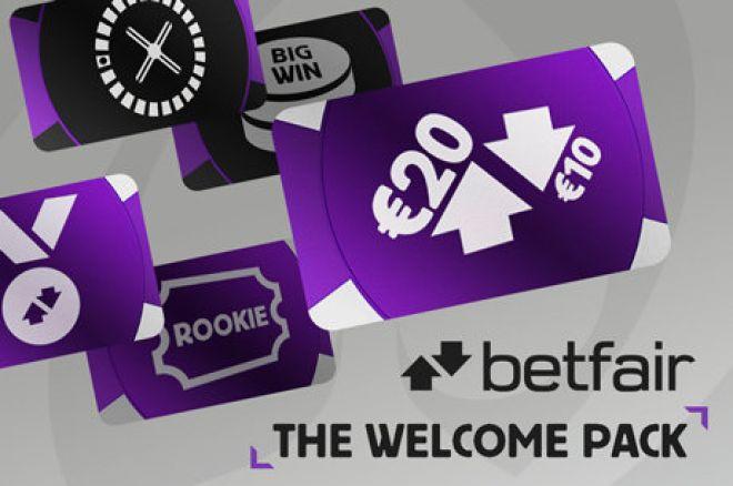 Betfair Poker dovanos: 40 eurų vertės pakuotė ir papildomai dvi pelningos akcijos 0001