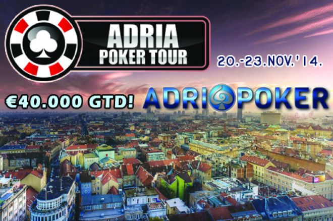 ADRIA POKER TOUR Inauguralni Event se igra u Zagrebu 20.-23. Novembra 2014. 0001