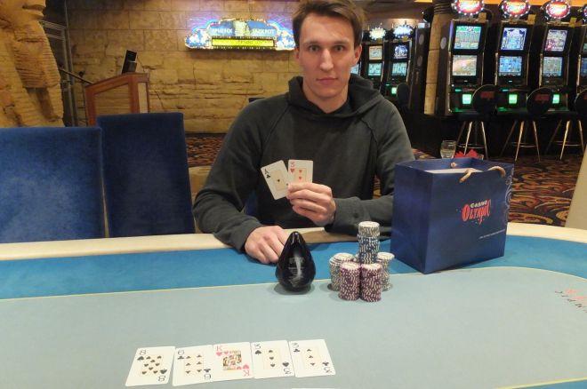 3-iajame šalutiniame Kauno klubinio pokerio čempionato turnyre nepralenkiamas buvo Lukas... 0001
