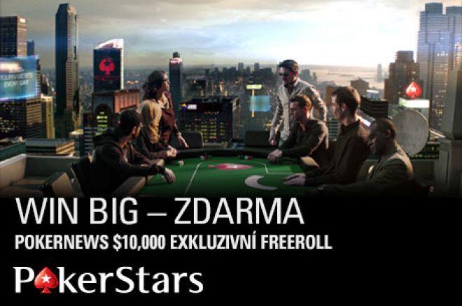Ještě týden se můžete kvalifikovat na náš $10.000 PokerStars freeroll! 0001