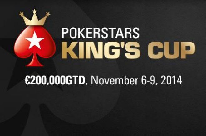 The €200,000 GTD PokerStars King's Cup Kicks Off on November 6